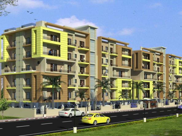 Flat for sale at Silver Kunj Apartments Near Jalandhar Bye Pass Ludhiana